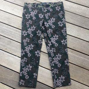 Zara Man Floral Pants